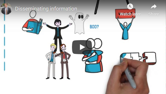 Easy but effective tips for disseminating information